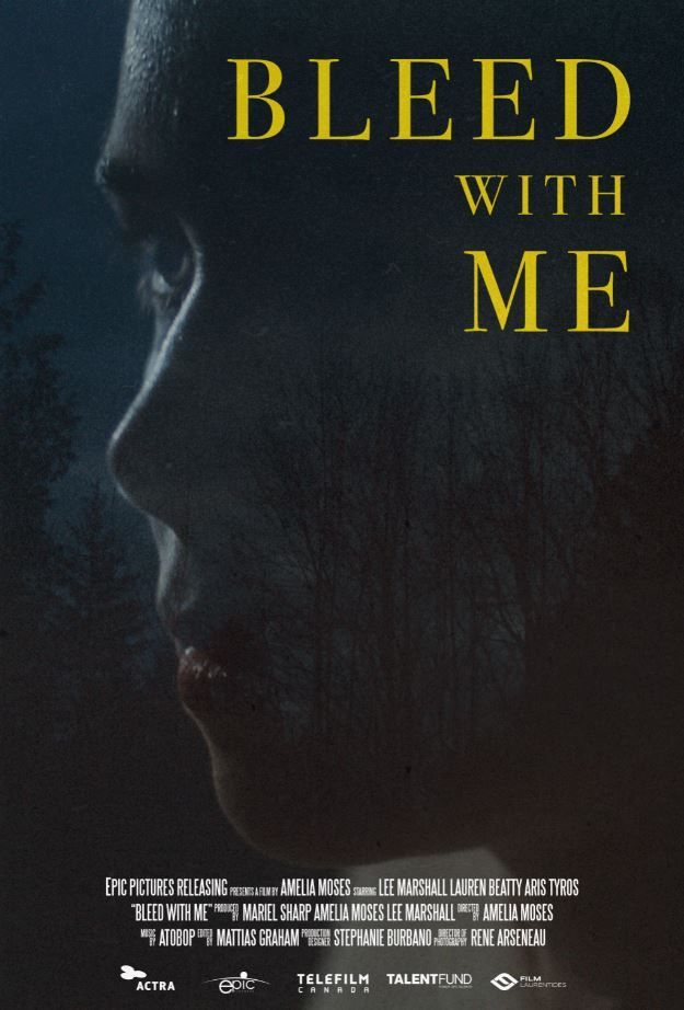 Bleed With Me - Affiche