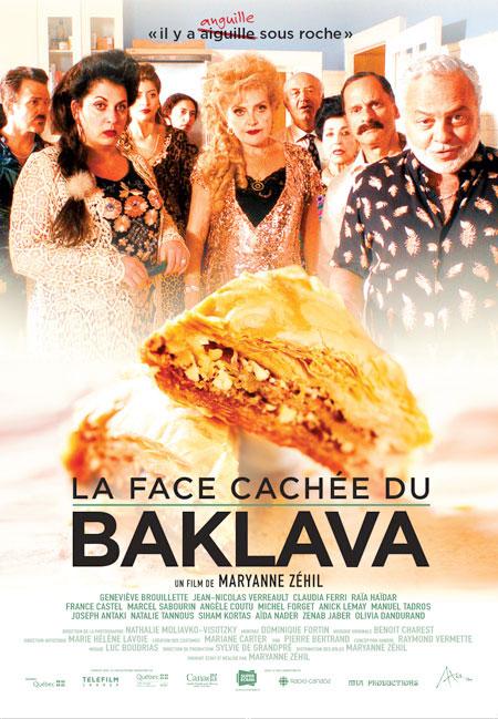La face cachée du baklava - Affiche (Axia Films)