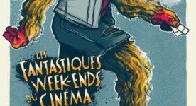 l'affiche montre le personnage de Sasquatch, que le public a pu voir assis sur son sofa devant sa télé l'an passé, maintenant de retour à l'extérieur, billets à la main, prêt à retrouver les salles de cinéma