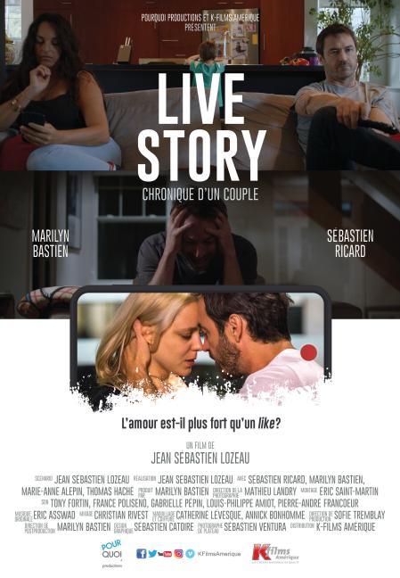 Affiche du film Live Story