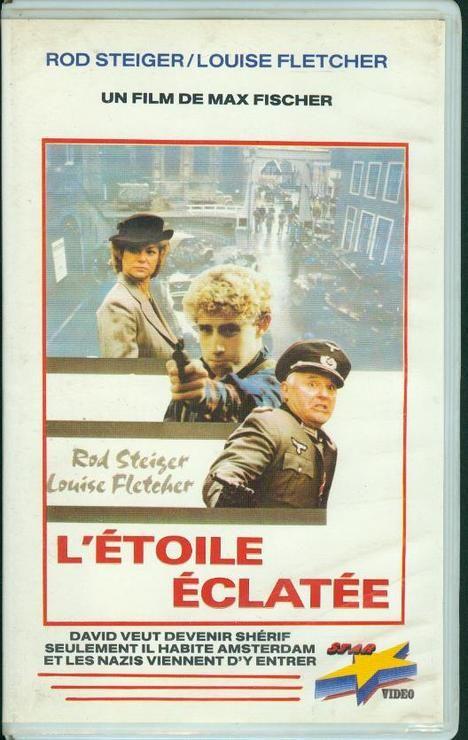 jaquette de la VHS française de L'Étoile éclatée (Lucky Star)