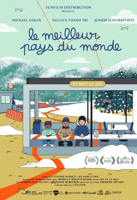 Affiche du film Le meilleur pays du monde de Ky Nam Le Duc (FunFilm Distribution)