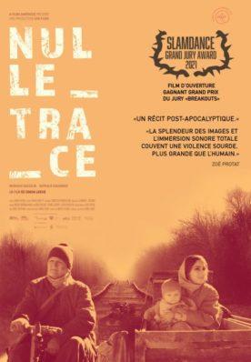 Affiche du film Nulle Trace de Simon Lavoie
