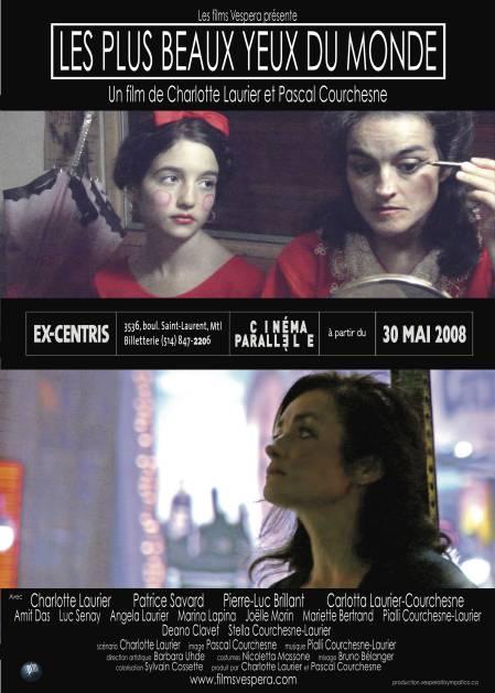 Affiche du film Les plus beaux yeux du monde de Charlotte Laurier