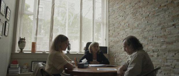 Extrait du film Soumissions de Emmanuel Tardif (la tentative de médiation entre un homme et son ex-femme a échoué)