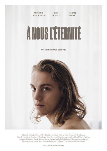 Affiche du film À nous l'éternité de Paul Barbeau (Fairmount Films)
