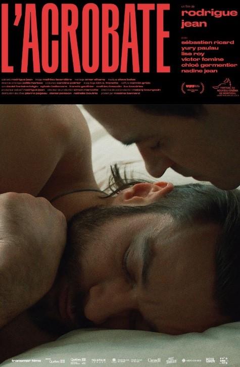Affiche du film L'acrobate de Rodrigue Jean