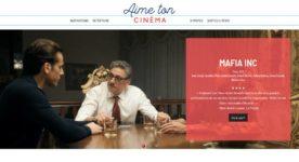 Page d'accueil de la plateforme aimetoncinema.ca