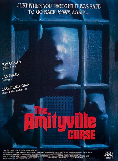 Pochette René Malo Vidéo de The Amityville Curse de Tom Berry