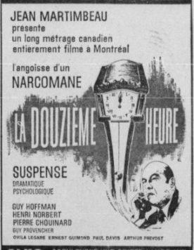 Douzième heure, la – Film de Jean Martimbeau