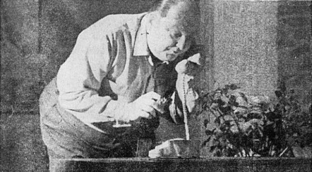 Le comédien Henri Norbert