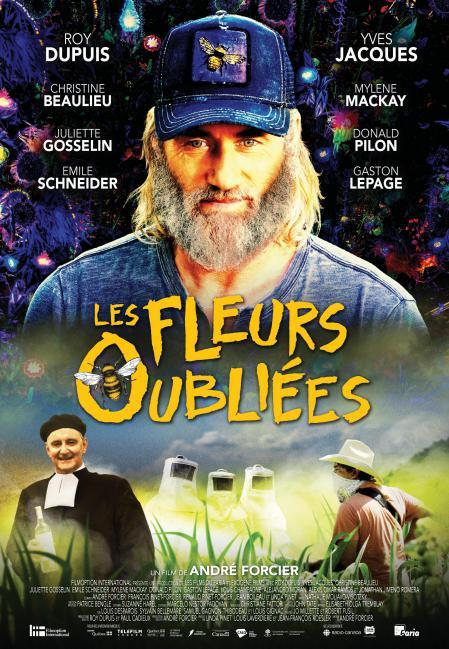 Affiche du film Les fleurs oubliées de André Forcier (Filmoption International)