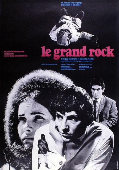 Affiche du film Le grand Rock de Raymond Garceau (ONF)