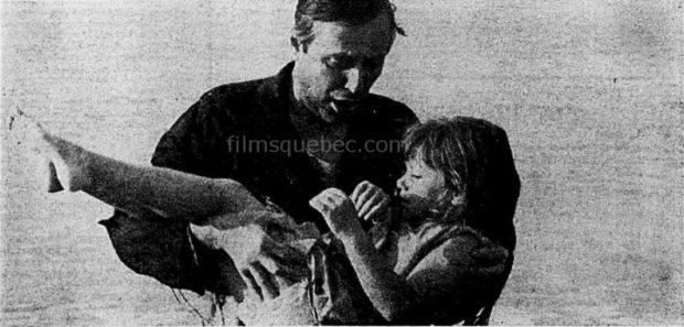"""Jacques Normand et Isabelle Pierson dans """"Ils sont nus"""" de Claude Pierson (image archives presse)"""