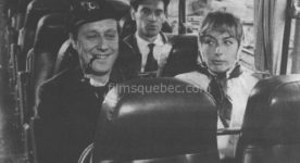 Jacques Normand, Rita Maiden dans Ils sont nus de Claude Pierson (image officielle, extraite des archives des journaux d'époque)