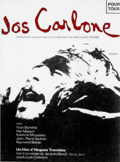 "Encart presse du film d'Hugues Tremblay ""Jos Carbone"""