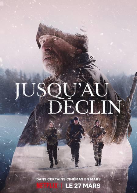 Affiche du film Jusqu'au déclin de Patrice Laliberté (source: Netflix)