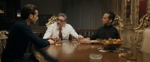 """Sergio Castellito au centre, dans """"Mafia Inc."""" de Daniel Grou (image fournie par Les Films Séville)"""