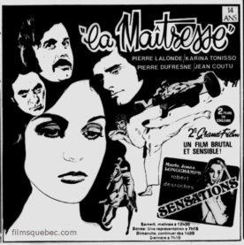 Maîtresse, La – Film de Anton Van De Water