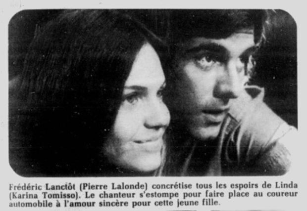 """Karina Tonisso et Pierre Lalonde dans """"La maîtresse"""""""