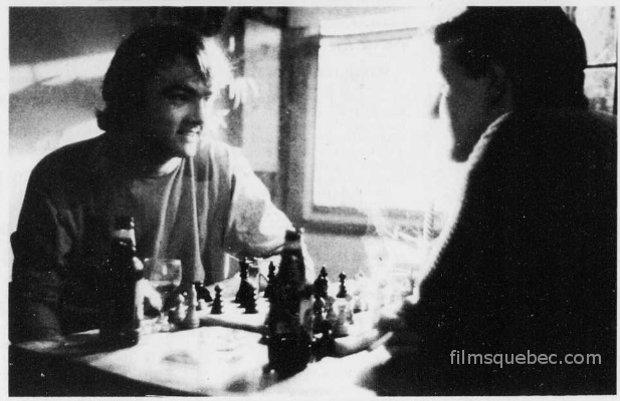 Image des comédiens Gildor Roy (g.) et Denys Picard (d.) dans Montréal en ville de Jean-Yves Laforce