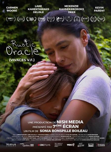 Affiche du film Rustic Oracle (une mère serre une fillette dans ses bras)