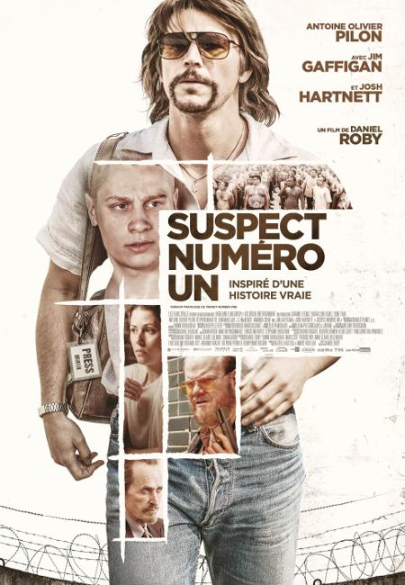 """Affiche du film Suspect numéro un, version française de """"Target Number One"""", film de Daniel Roby"""