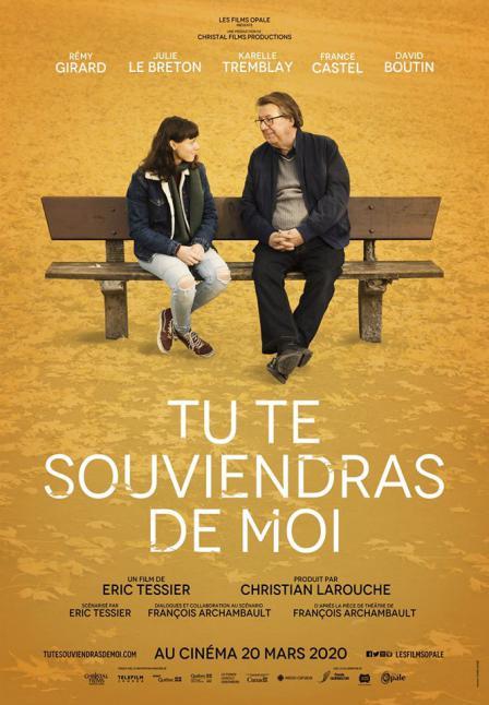 Tu te souviendras de moi _ Pré affiche du film d'Éric Tessier