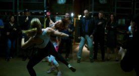 Image extraite de l'un des combats dans le film Yankee de Stéphan Beaudoin